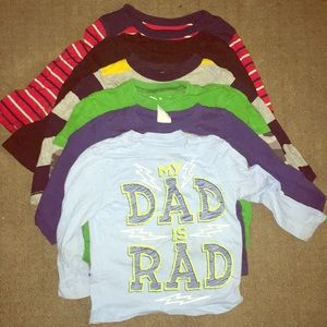 Long Sleeve Toddler Shirt Bundle